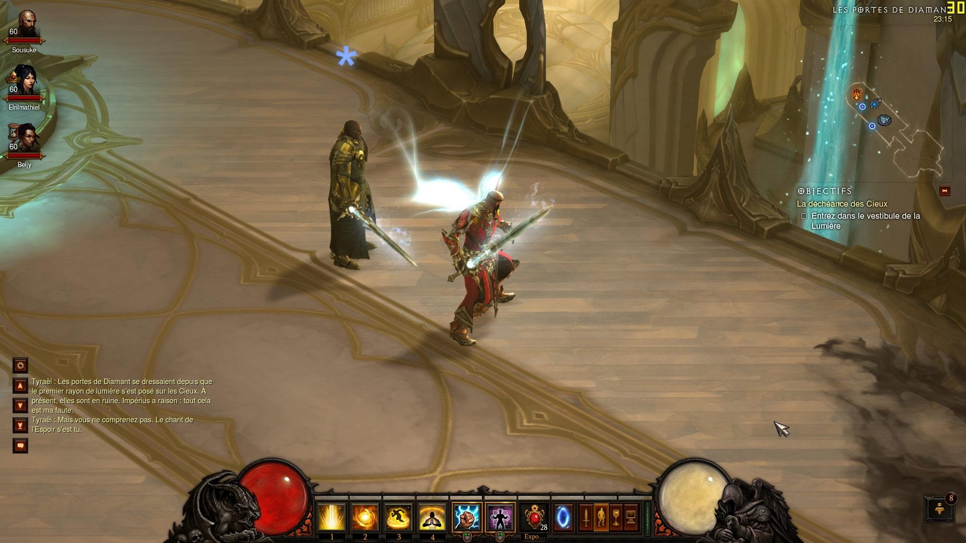 Une épée ressemblant à celle de Tyraël ! Screenshot réalisé par Søusuke.