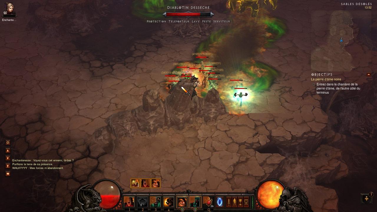 Douze serviteurs pour ce monstre. Screenshot réalisé par Disturbia31.