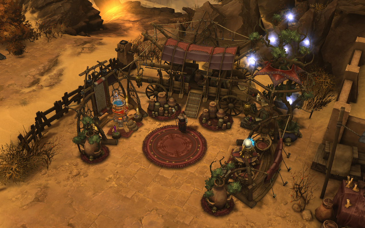 La Mystique, de l'extension Diablo III: Reaper of Souls.
