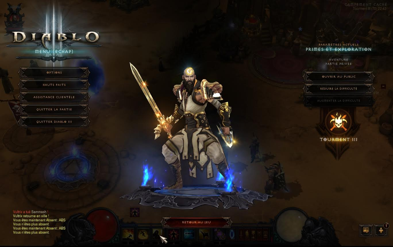 Screenshot réalisé par Vultrix.