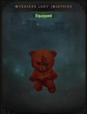 Nouvelle mascotte du patch 2.4.1 de Diablo III: Reaper of Souls.