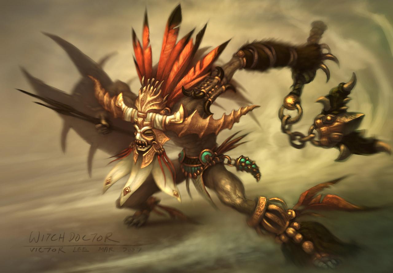 Artwork Diablo 3 de juin 2008.