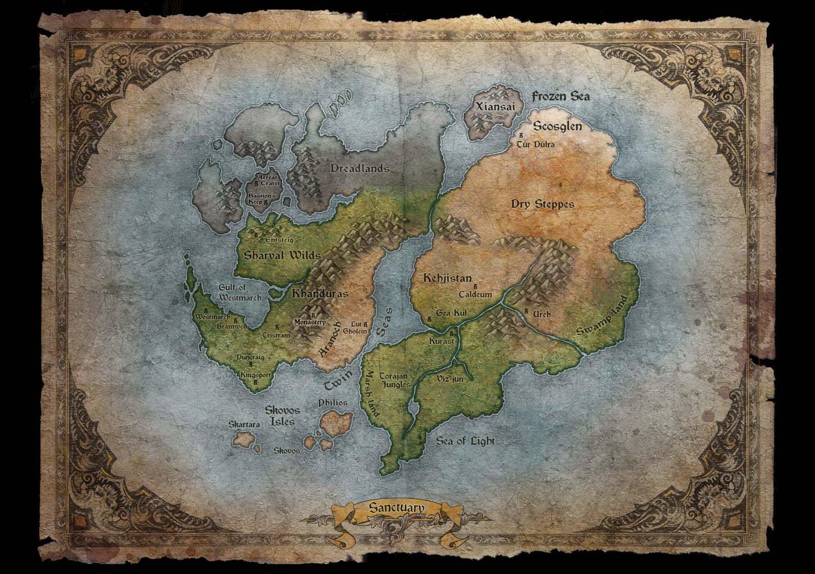 Artwork de Diablo III.