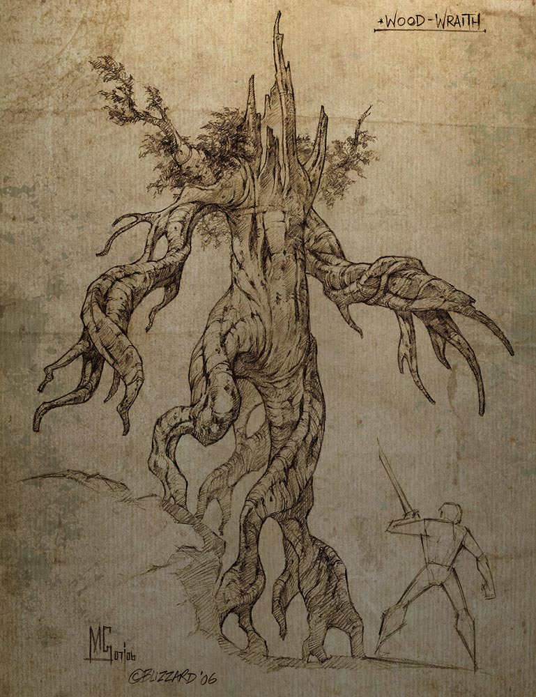 Concept Art de Diablo III.