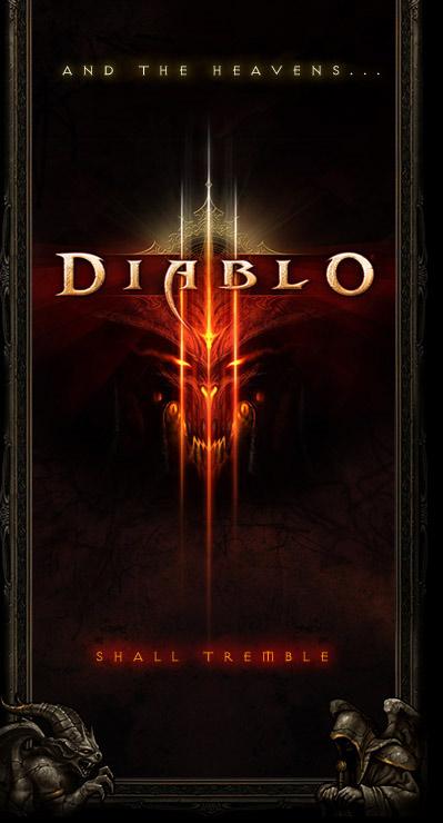 Image de la page d'accueil du site de Blizzard (juin 2008).