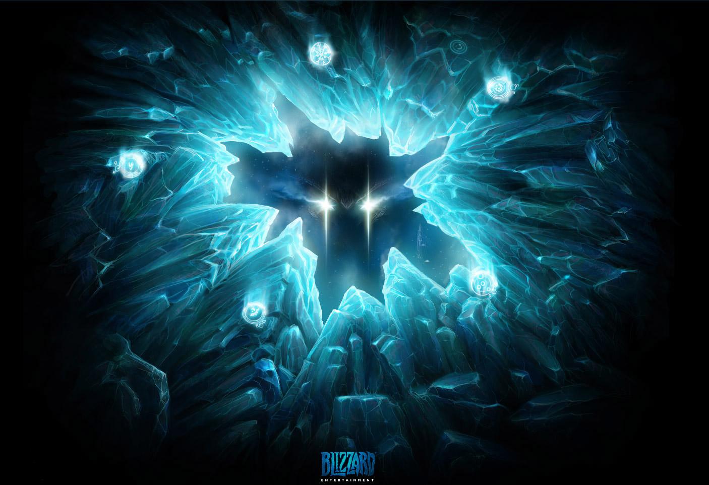 Image postée par Blizzard le 28 juin 2008 pour préparer l'annonce de Diablo III.