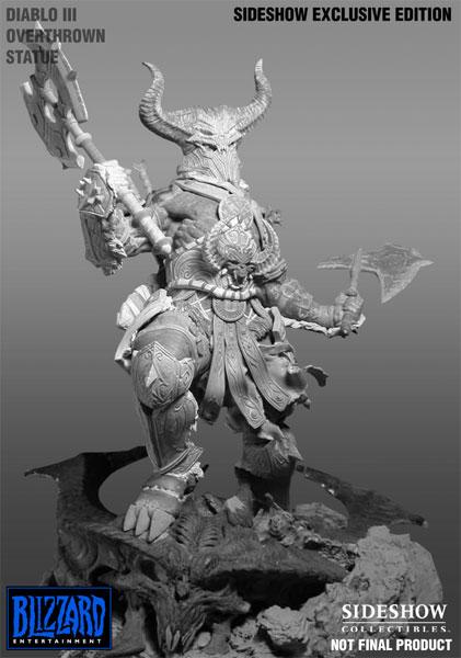 Statuette du barbare réalisée par Sideshow Collectibles. Visuel non définitif.