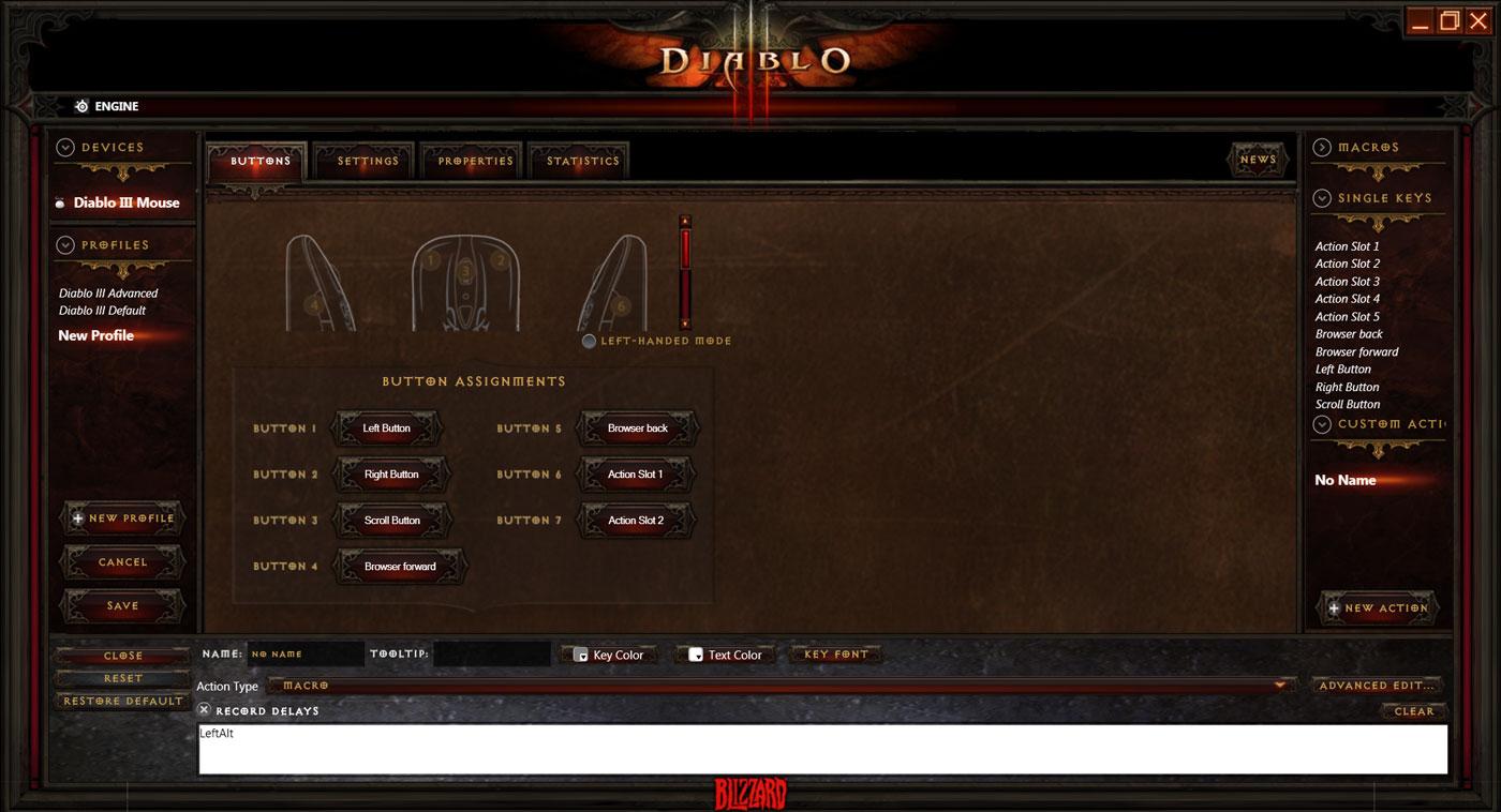 Pilotes pour casque micro et souris Steelseries Diablo III.