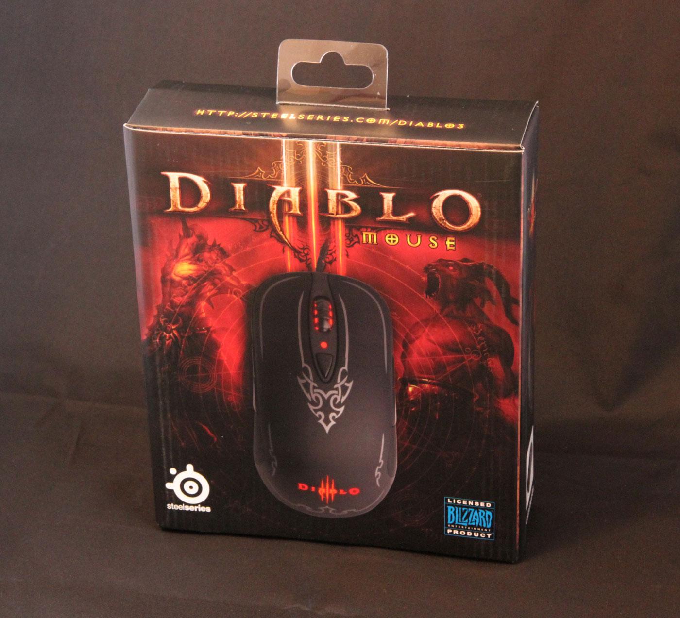 Souris Steelseries Diablo III.