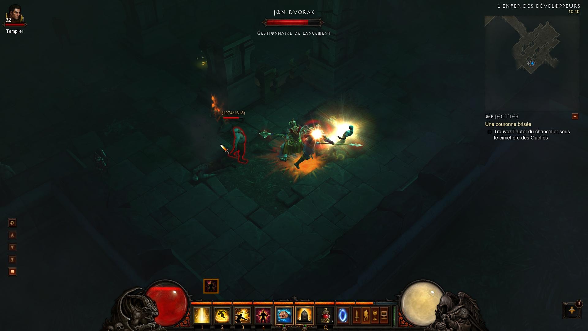 Clin d'oeil à un des développeurs de Diablo III. Image de Cymano.