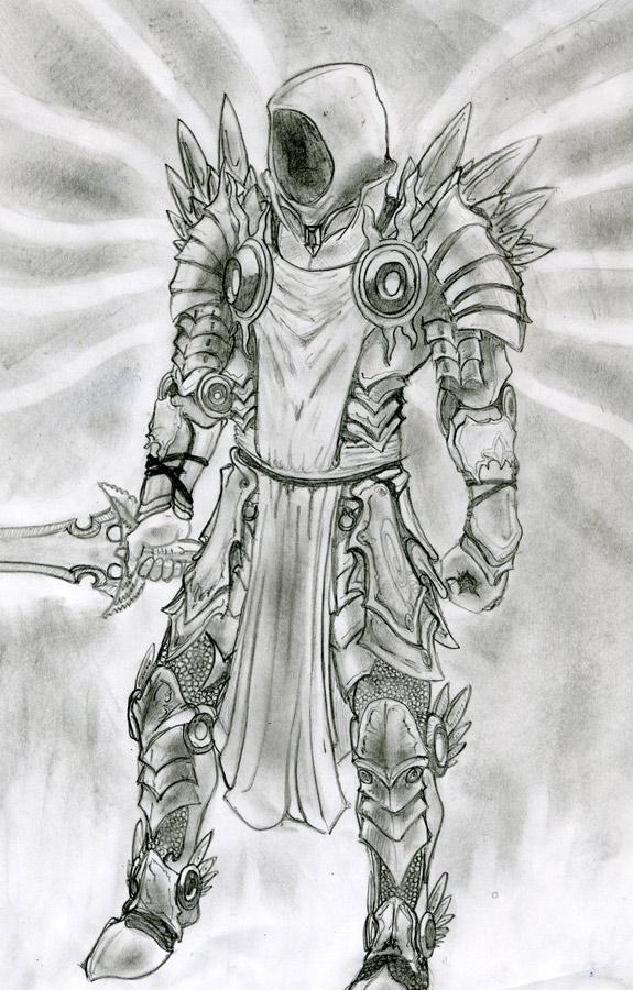 Fan art réalisé par Dark Adriel.