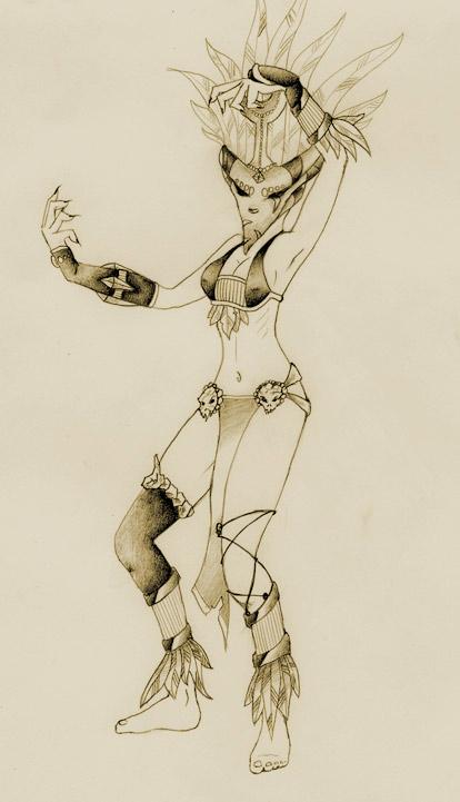 Fan art réalisée par Wahaa.