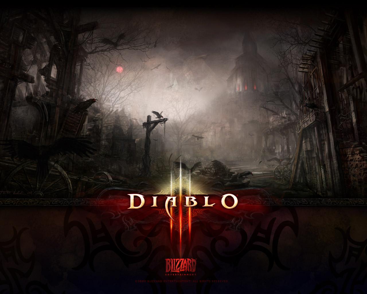 Fond d'écran Diablo 3.