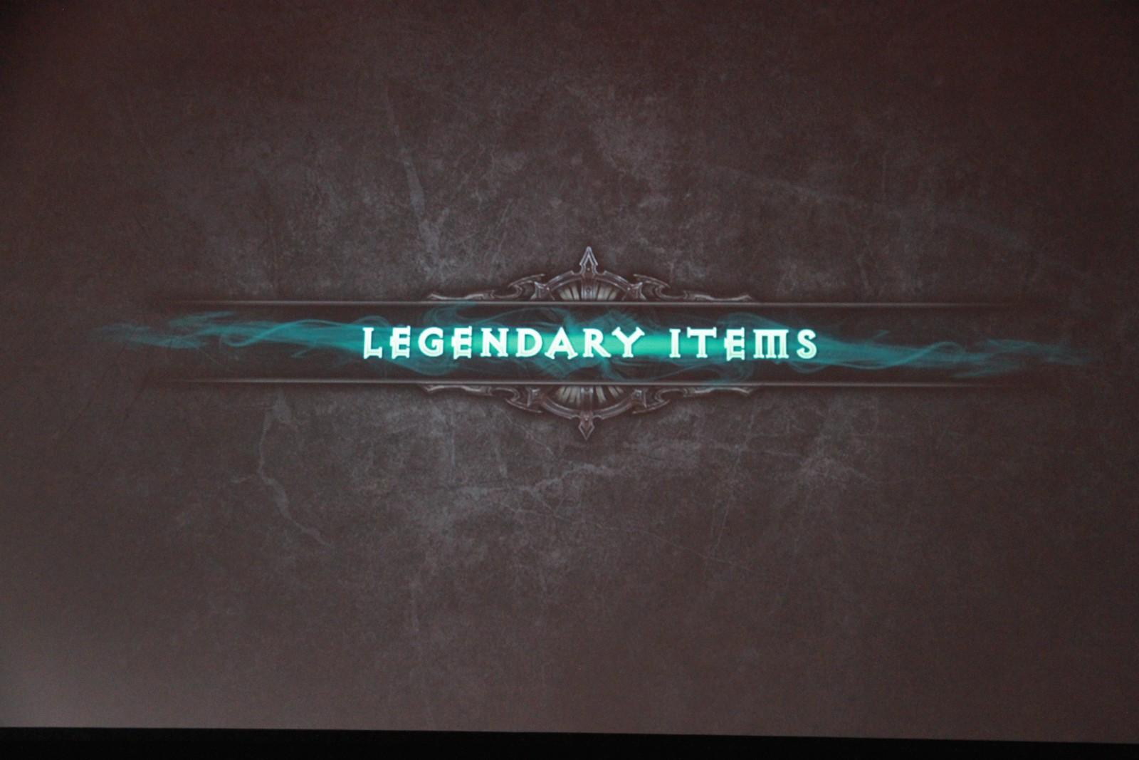 Photo de la conférence dédiée aux nouveautés à venir sur Diablo III en 2016 et 2017.