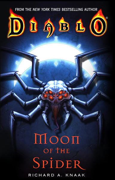Couverture du roman Moon of the Spider.