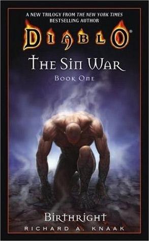 Couverture du roman Birtright, premier tome de la trilogie The Sin War.
