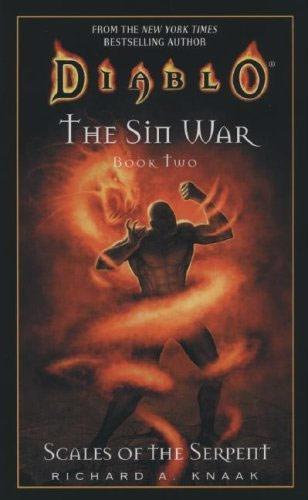 Couverture du roman The Scales of the Serpent, second tome de la trilogie The Sin War.