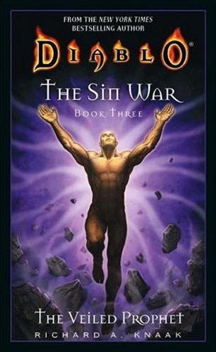 Couverture du roman The Veiled Prophet, troisième et dernier tome de la trilogie The Sin War.
