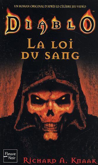 Couverture du roman La Loi du Sang, aux éditions Fleuve Noir.