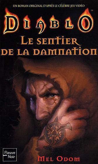 Couverture du roman Le Sentier de la Damnation, aux éditions Fleuve Noir.