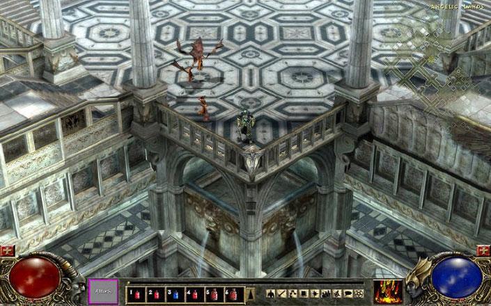 Screenshot de Diablo III en 2005.