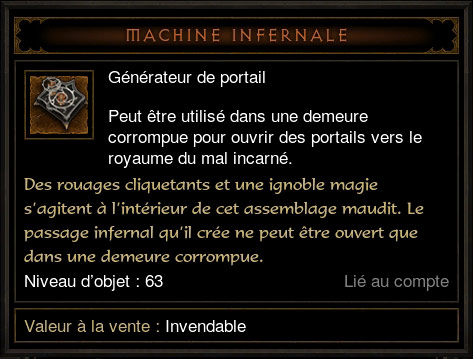 Machine Infernale