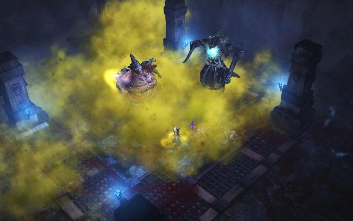 Machine infernale: royaume du Chaos, Ghom et Rakanoth défendent le garde-manger.