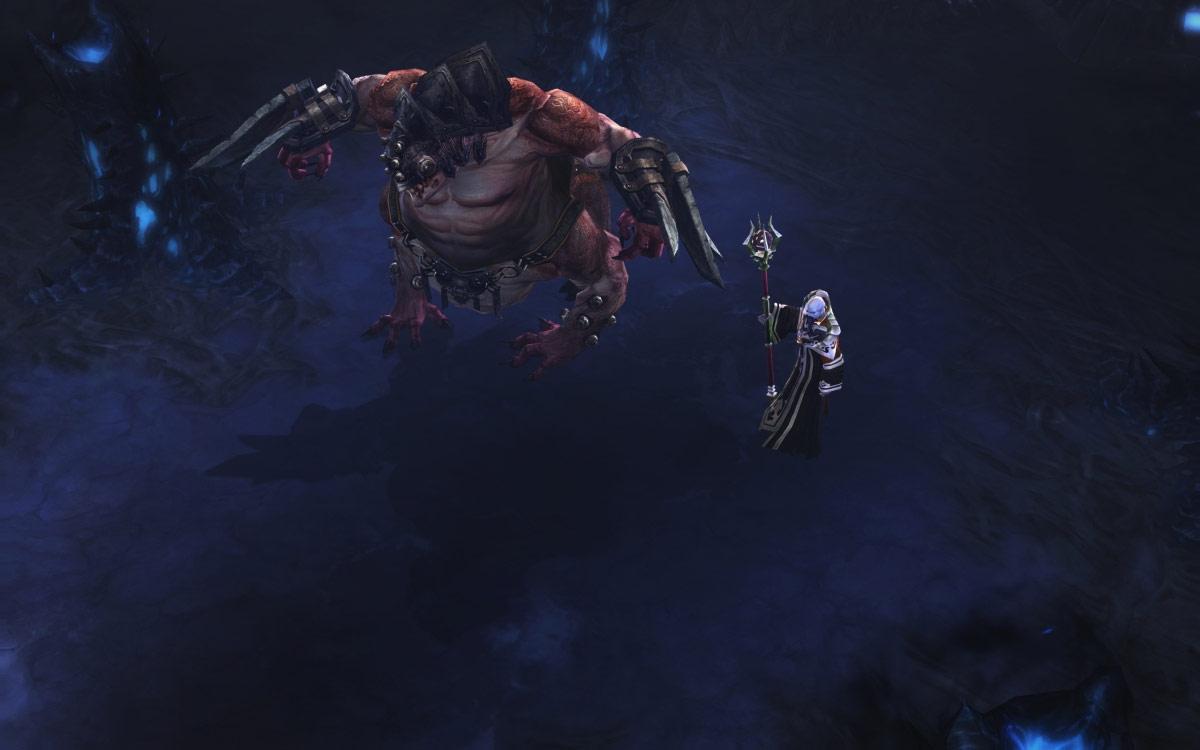 Royaume du Désarroi, le briseur de siège et Zoltun Kulle protègent la Lisière de l'abîme.