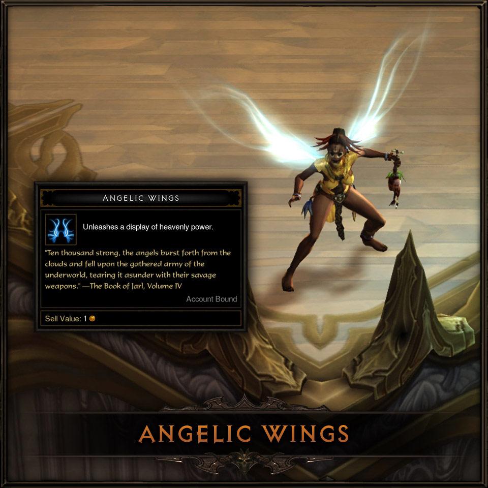 Bonus précommande Xbox 360 et PS3: Ailes angéliques.