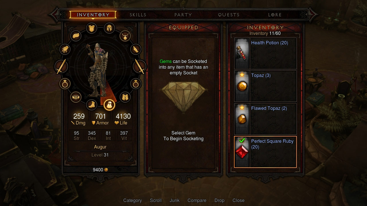 Screenshot de Diablo III sur Playstation 3 et Playstation 4.