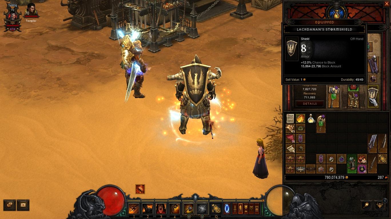 Screenshot réalisé par Doomscream sur Diablo III.