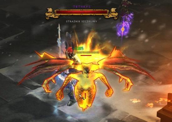Les Dark Bat Wings dropent sur Tethrys, un gardien de faille.