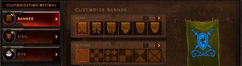 Interface de Diablo III: La bannière - Diablo III - JudgeHype