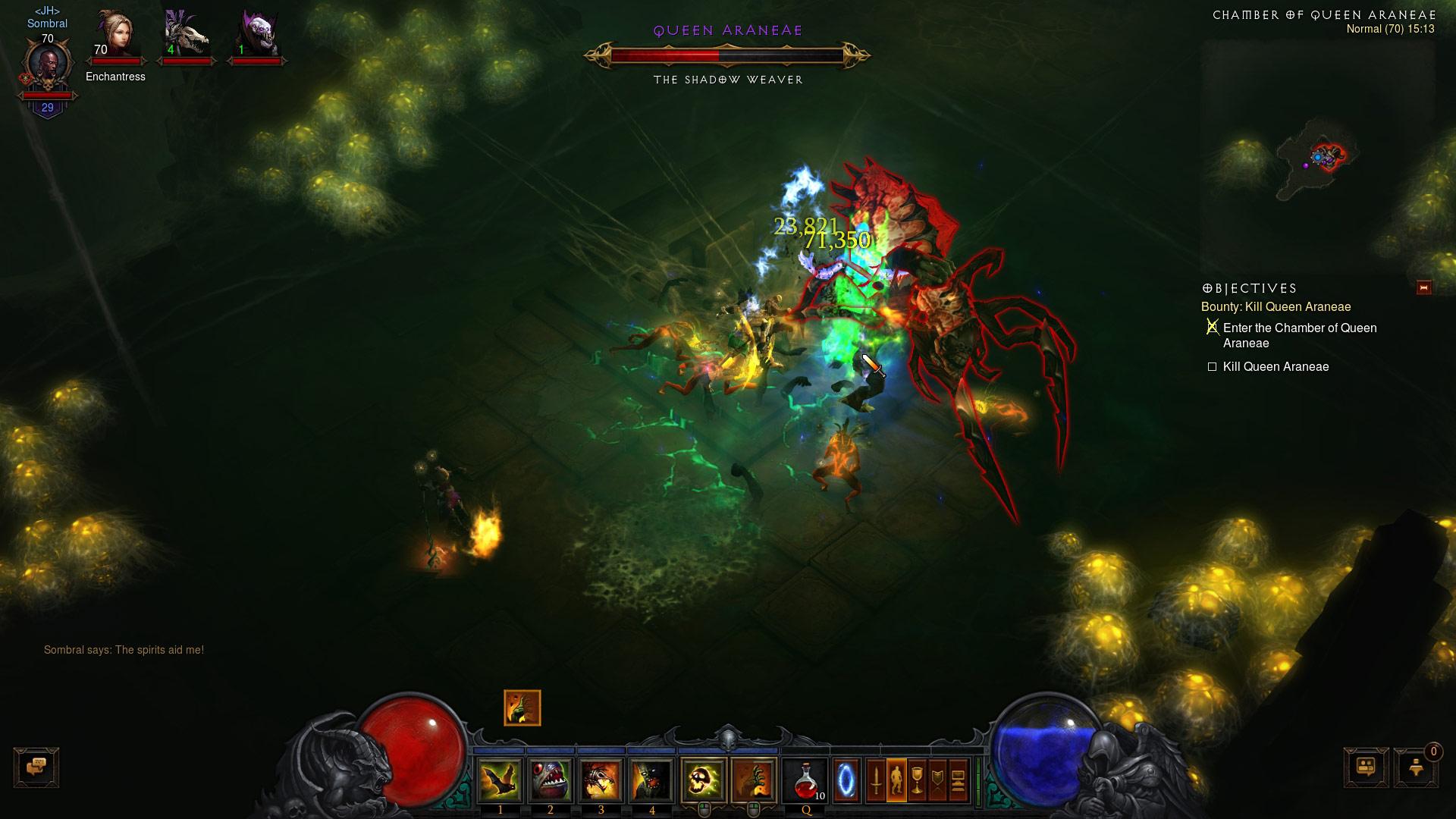 Screenshot de Diablo III: Reaper of Souls.