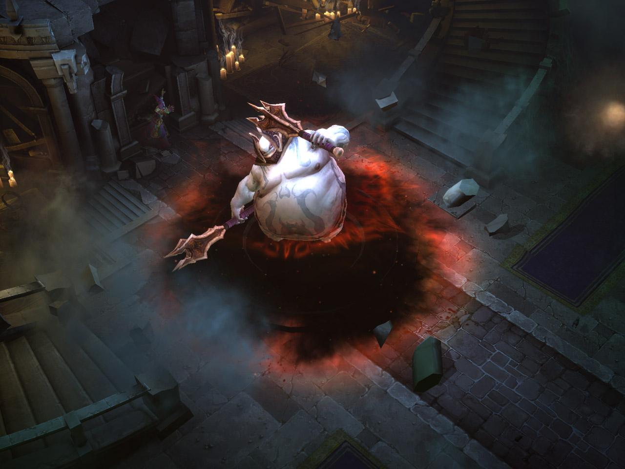 Screenshot Diablo III de juin 2008.