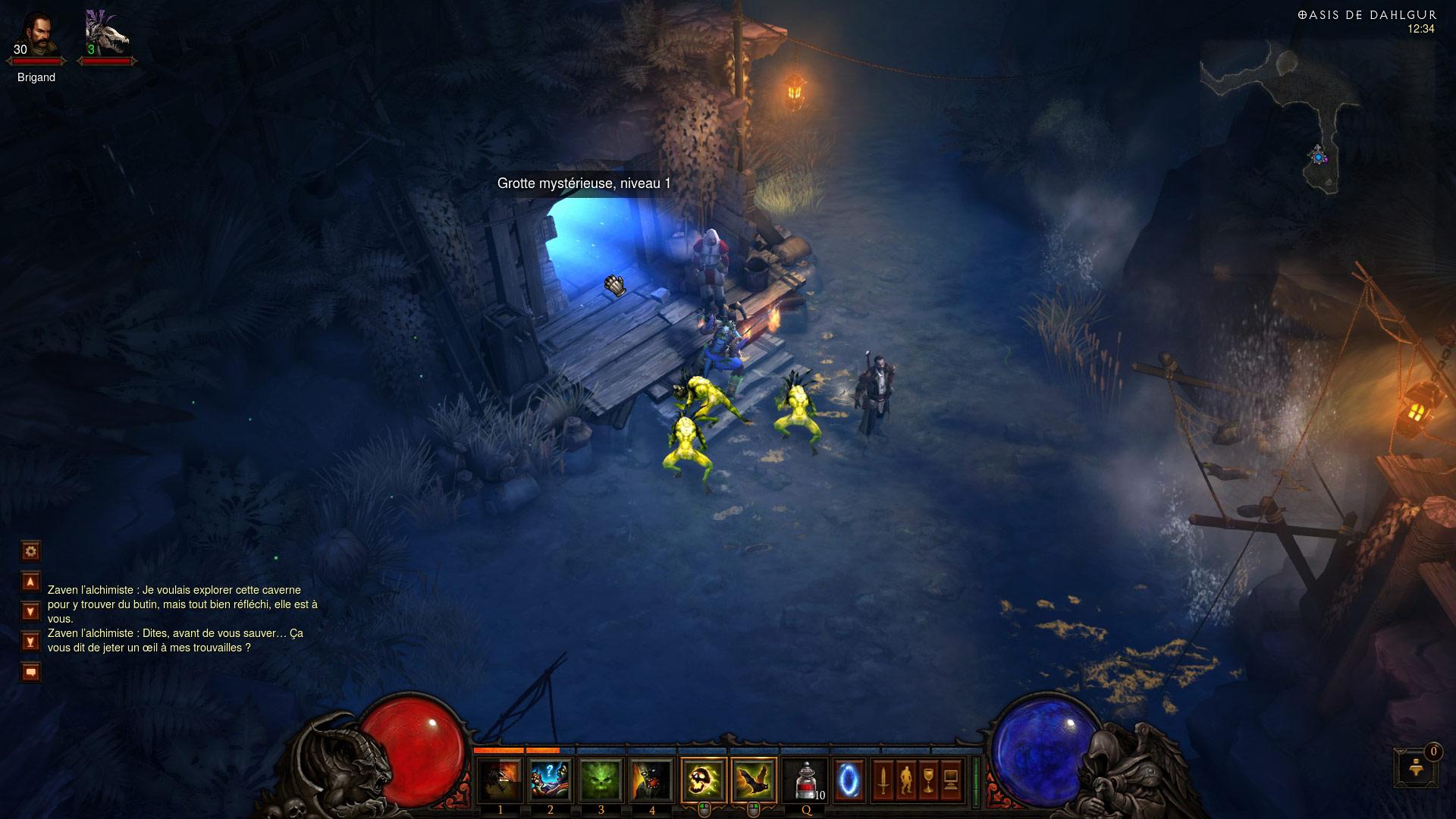 Screenshot de Diablo III.
