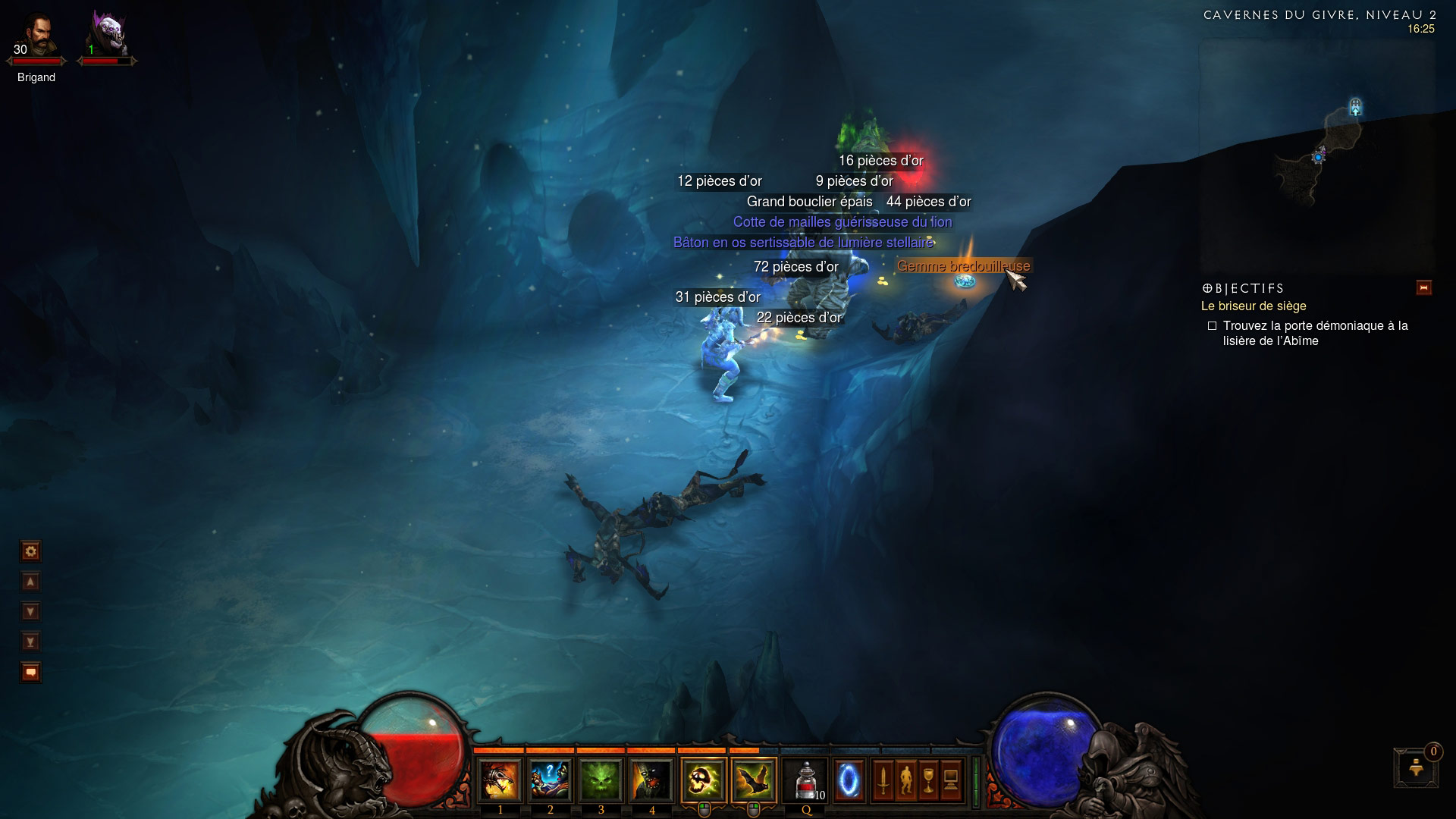 Screenshot de Diablo III.
